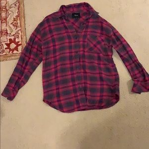 Rails Pink Flannel Selling for 30